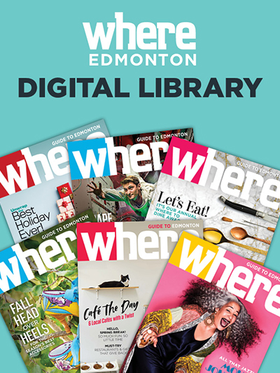 WHERE Edmonton magazine digital library